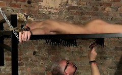 Chubby boy gay sex movies Blindfolded victim stud Reece has