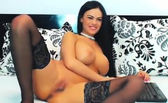 Busty very girl nude on cam