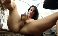 Horny Milf Toying Her Holes