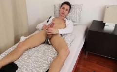 Horny amateur twink Johny needs to masturbate after school