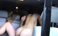 Girlfriend fucks man in his luxurycar