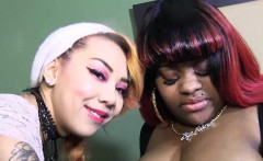 threesome fraks bbw giggles asian freak kimberly by bbc