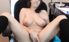 Webcam Girl Edges Her Pussy To Orgasm
