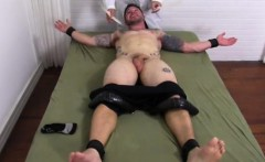Gay men with hairy legs and big cocks Clint Gets Naked Tickl