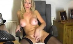 Milf Dildos Her Pussy In Private Show