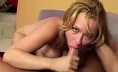 Blonde milf gets the best cocks