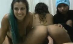 Lucky Guy Fucks Three Girls