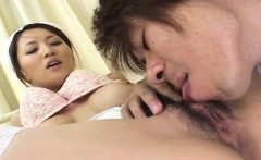 Chubby babe Yuki enjoys getting her tight pussy banged