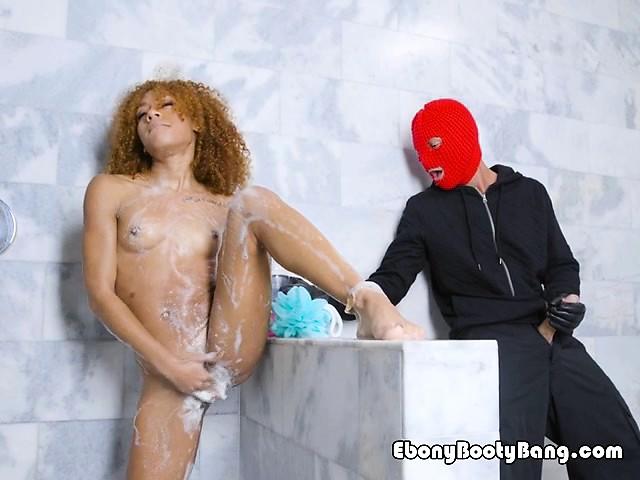 Ebony Wife Caught Cheating