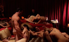 Husband and wife with a strong sex drive tries groupsex