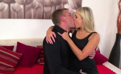 Amazing blonde slut with Barra Brass riding cock like a pro