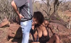 busty african babe fucked