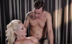 Hot Babe Alena Croft Gets Pleasured By Hung Masseur