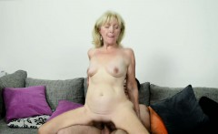 Euro grandma banged hard and jizzed in mouth