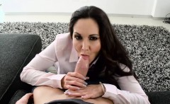 MILF mom Ava Addams desperately needs a big cock inside her