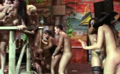 Sexy bimbos ride dicks at a party