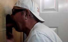 Gloryhole Buddy Cock Suck