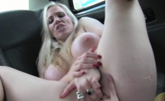 Female Fake Taxi Sexy cabbies get hot and horny
