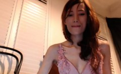 Attractive Tiny Tits Cammodel Plays With Her Twat