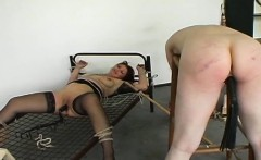 Extreme slavery session with some nipple torture scenes