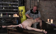 Master Sebastian Kane toying with Eli Manuels big cock