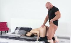 Dane Jones Brunette sex addict deepthroat and creampie