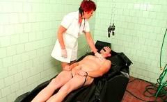 Goddess humiliates dude during horny femdom fetish act