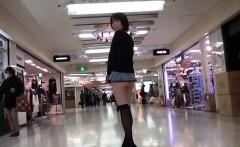 Super mini skirt in public - watch part2
