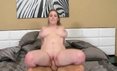 Hot milf puts her a-hole on top of a monster cock and rides