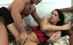MFM threesome with hot MILF