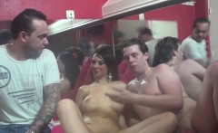 Euro hooker sits on sex trip guys face