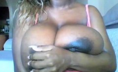 Nice Bbw Ebony Slut With Enormous Boobs Analed Jizzed