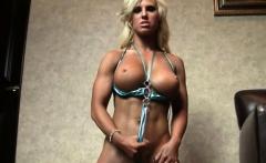 sexy female bodybuilder blonde megan avalon