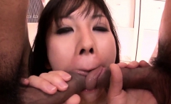 Busty milf Hina Tokisaka wants two cocks in her love holes