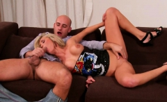 Dude is getting dominated by his pretty woman