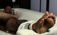 gay feet movietures and spy guy xxx Mikey Tied Up & Worshipe