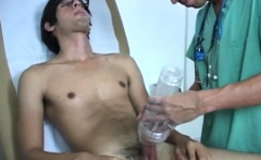 Bareback gay sex photo Smothering it in lube, he rammed it i