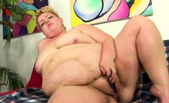 Fat BBW Velma Voodoo fucks herself