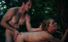 Teen sauna and petite double Next, he ties her wrists toa tr