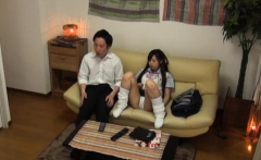 Japanese gal is fond of getting cookie stimulated, fingered