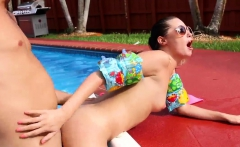 Hot teen s anal hd and white curves Swimming In Semen
