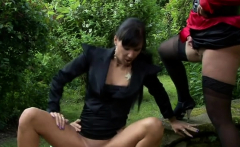 Sexy babe gets her cum-hole licked and finger fucked hard