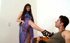 Spex mature amateur bouncing on cock