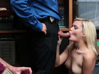 Stupid Teen Madison Gets Drilled For Theft