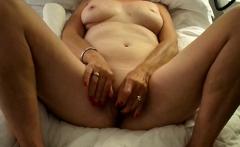 Solo Mature masturbation