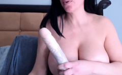 big tit s milf sucking dildo in camshow 01 08 2015