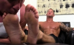 Free foot gay and male fetish movies xxx relished every seco