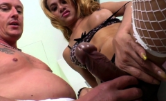 Busty Shemale Rimmed And Cocksucked