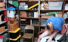 Rachael Cavalli gets bang in her office