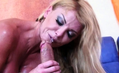 Hot blonde MILF can't have enough dick